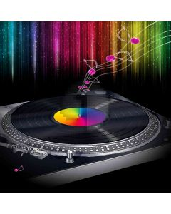 Melodious Music Computer Printed Photography Backdrop DGX-357