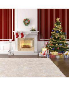 Christmas Eve  Computer Printed Photography Backdrop DGX-449