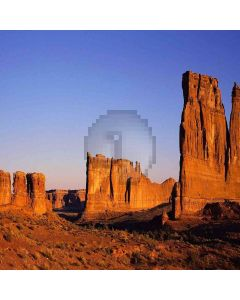 Cliffs Wind Fossils Computer Printed Photography Backdrop DGX-479