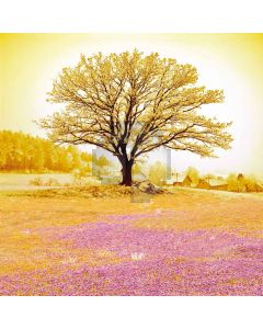 Golden tree Computer Printed Photography Backdrop DT-11-125