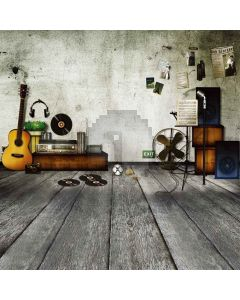 Love music Computer Printed Photography Backdrop DT-11-65