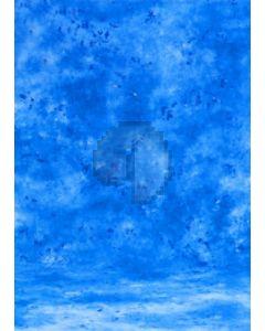 Sea-blue Tie-Dye Photography Muslin Backdrop Background DT-BJ-ZR0004