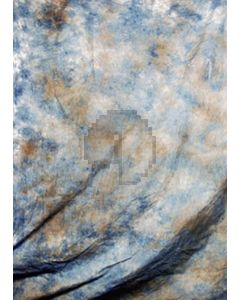 Brown white blue Tie-Dye Photography Muslin Backdrop Background DT-BJ-ZR0007