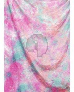 Green pink Tie-Dye Photography Muslin Backdrop Background DT-BJ-ZR0008