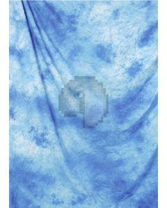 Sea-blue Tie-Dye Photography Muslin Backdrop Background DT-BJ-ZR0009