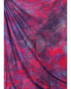 Red blue Tie-Dye Photography Muslin Backdrop Background DT-BJ-ZR0015