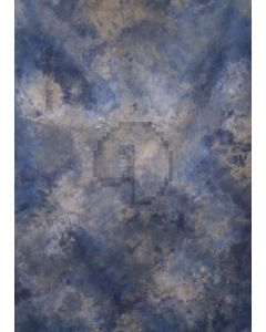Blue white Tie-Dye Photography Muslin Backdrop Background DT-BJ-ZR0028