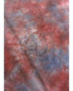 Red and blue Tie-Dye Photography Muslin Backdrop Background DT-BJ-ZR0029