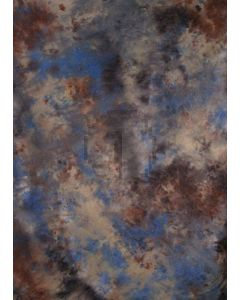 Blue brown yellow Tie-Dye Photography Muslin Backdrop Background DT-BJ-ZR0040
