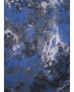 White Black Blue Tie-Dye Photography Muslin Backdrop Background DT-BJ-ZR0043