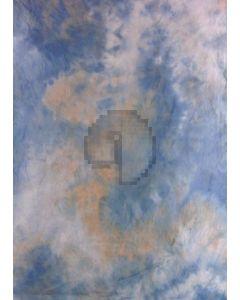 Blue Yellow Tie-Dye Photography Muslin Backdrop Background DT-BJ-ZR0052