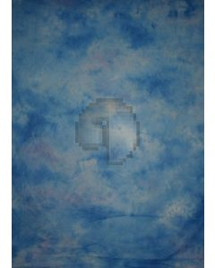 Blue Tie-Dye Photography Muslin Backdrop Background DT-BJ-ZR0071