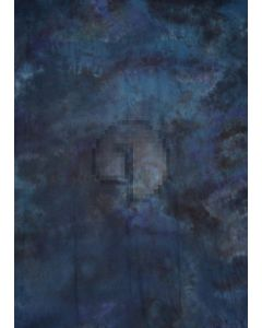 Blue Black Tie-Dye Photography Muslin Backdrop Background DT-BJ-ZR0073