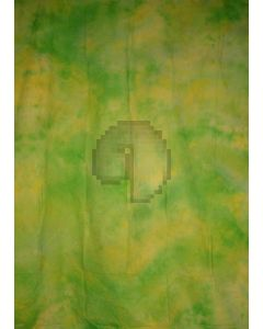 Green Yellow Tie-Dye Photography Muslin Backdrop Background DT-BJ-ZR0078