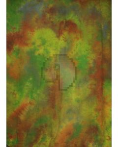 Green yellow brown Tie-Dye Photography Muslin Backdrop Background DT-BJ-ZR0079