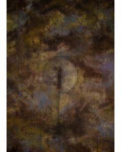 Yellow Blue Black Tie-Dye Photography Muslin Backdrop Background DT-BJ-ZR0089