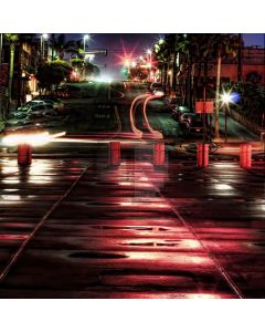 City streets Computer Printed Photography Backdrop DT-LP-0536
