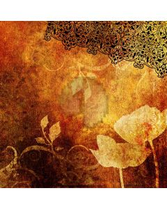 Freehand lotus Computer Printed Photography Backdrop DT-SL-005