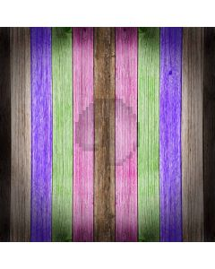 Color bar woodgrain Computer Printed Photography Backdrop DT-SL-086