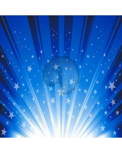 Blue Light Star Computer Printed Photography Backdrop DTU-991