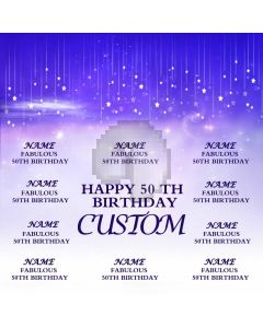 Fabulous Birthday Banner Computer Printed Photography Backdrop HXB-006