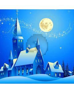 Moon Star Castle Snoe Computer Printed Photography Backdrop HXB-048
