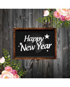 New Year Brick Board Flower Computer Printed Photography Backdrop HXB-423
