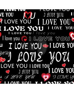 Love Letter Heart Computer Printed Photography Backdrop HXB-887