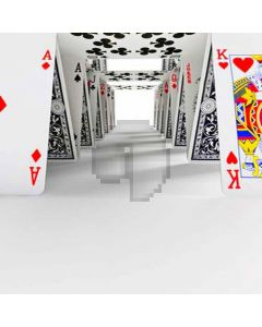 Playing cards build the trail Computer Printed Photography Backdrop HY-C-2590