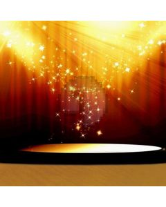 Stage and bright light Computer Printed Photography Backdrop HY-C-2609
