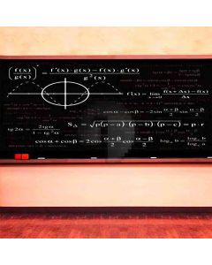 Math Fun  Computer Printed Photography Backdrop HY-CM-2028