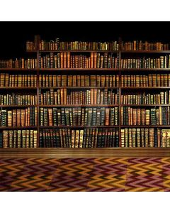 Shelf Full Of Books Computer Printed Photography Backdrop HY-CM-2603