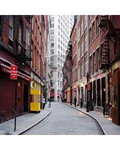 European Lane Computer Printed Photography Backdrop HY-CM-3636