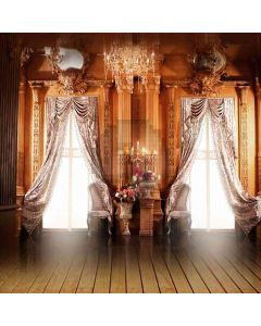 European Style Room Computer Printed Photography Backdrop HY-CM-3927