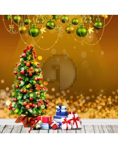Christmas Gifts Computer Printed Photography Backdrop L-801