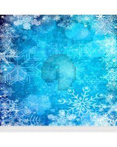 Irregular Snowflake  Computer Printed Photography Backdrop L-802