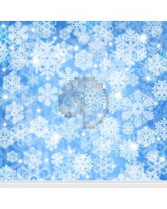 Overspread Snowflake  Computer Printed Photography Backdrop L-803