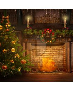Roaring Fire Computer Printed Photography Backdrop L-812