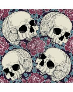 Skull And Rose Computer Printed Photography Backdrop LMG-076