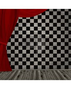 Black And White Pattern Computer Printed Photography Backdrop LMG-124