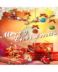 Christmas Gifts Computer Printed Photography Backdrop LMG-147