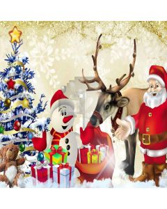 Santa Claus  Computer Printed Photography Backdrop LMG-175