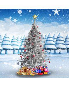 Wonderful Christmas Tree Computer Printed Photography Backdrop LMG-192