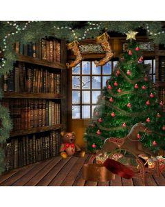 Warm Christmas Computer Printed Photography Backdrop LMG-205