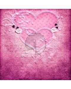 Romantic Wall Computer Printed Photography Backdrop LMG-404