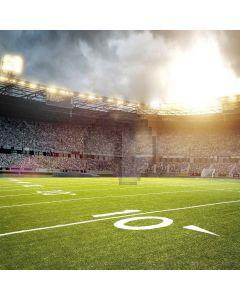Football Field Computer Printed Photography Backdrop LMG-416
