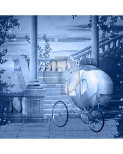 Stairs Bike Lantern Tree Computer Printed Photography Backdrop LMG-719