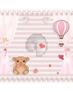 Animal Heart Computer Printed Photography Backdrop LMG-794