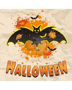 Pumpkin Bat Computer Printed Photography Backdrop LMG-922