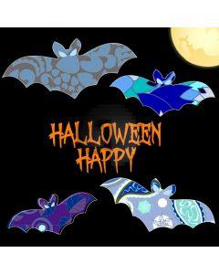Bat Halloween Computer Printed Photography Backdrop LMG-925